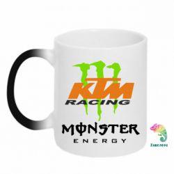 Кружка-хамелеон KTM Monster Enegry