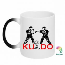 Кружка-хамелеон Kudo Fight