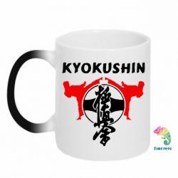 Кружка-хамелеон Kyokushin - FatLine