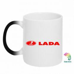 Кружка-хамелеон Lada