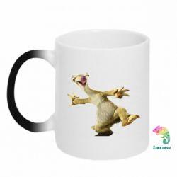 Кружка-хамелеон Ленивец из Ледникового Периода - FatLine
