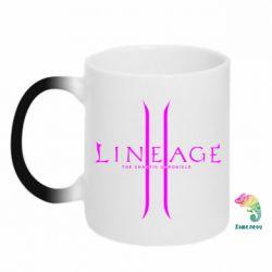 Кружка-хамелеон Lineage ll - FatLine