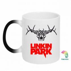 Кружка-хамелеон Linkin Park Logo
