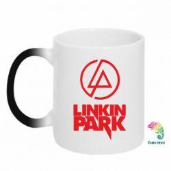Кружка-хамелеон Linkin Park