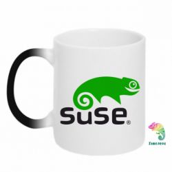 Кружка-хамелеон Linux Suse - FatLine