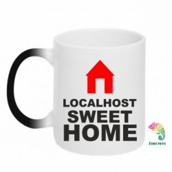 Кружка-хамелеон Localhost Sweet Home - FatLine