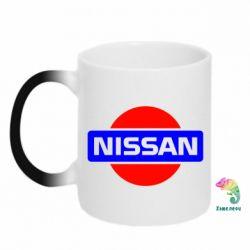 Кружка-хамелеон Logo Nissan - FatLine