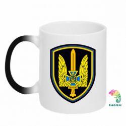 Кружка-хамелеон Логотип Азов - FatLine