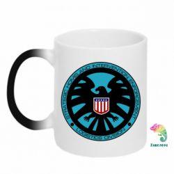 Кружка-хамелеон Логотип Щита - FatLine
