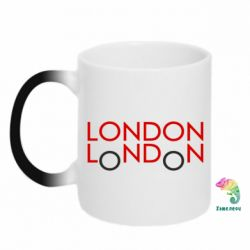 Кружка-хамелеон London - FatLine