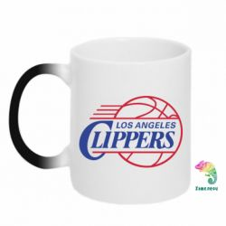 Кружка-хамелеон Los Angeles Clippers