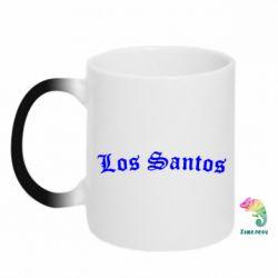 Кружка-хамелеон Los Santos - FatLine