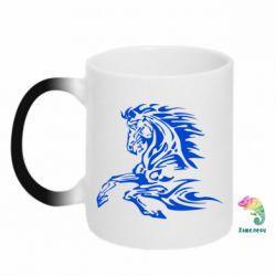 Кружка-хамелеон Лошадь - FatLine