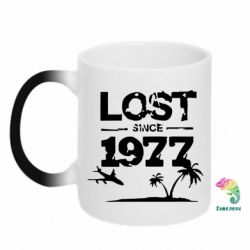 Кружка-хамелеон LOST since 1977 - FatLine