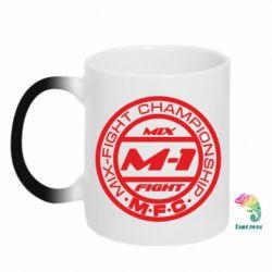 Кружка-хамелеон M-1 Logo - FatLine