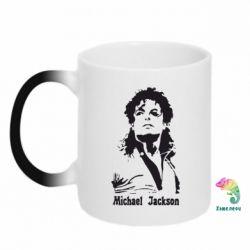 Кружка-хамелеон Майкл Джексон