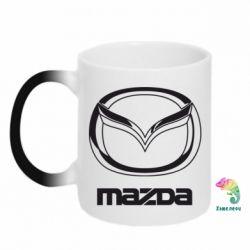 Кружка-хамелеон Mazda Logo - FatLine