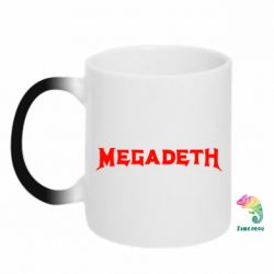 Кружка-хамелеон Megadeth - FatLine