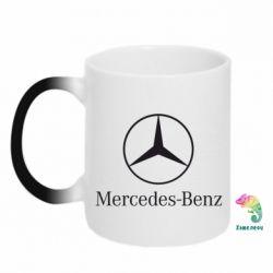 Кружка-хамелеон Mercedes Benz