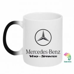Кружка-хамелеон Mercedes Benz - FatLine