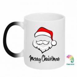 Кружка-хамелеон Merry Christmas - FatLine