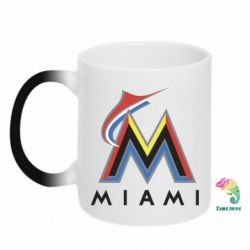 Кружка-хамелеон Miami Marlins - FatLine