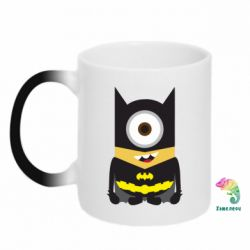 Кружка-хамелеон Minion Batman