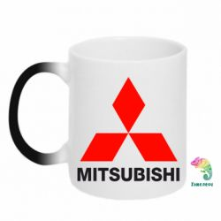 Кружка-хамелеон Mitsubishi small - FatLine