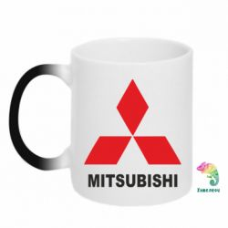 Кружка-хамелеон MITSUBISHI