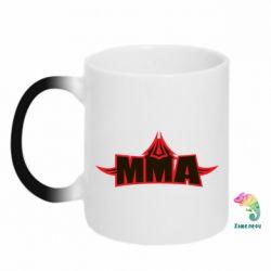 Кружка-хамелеон MMA Pattern - FatLine