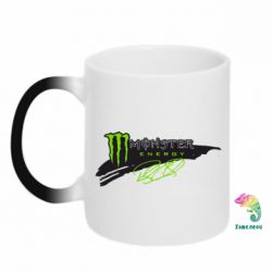 Кружка-хамелеон Monster Energy Art