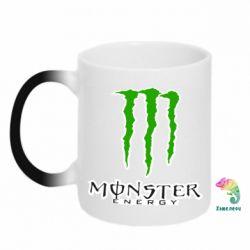 Кружка-хамелеон Monster Energy Logo - FatLine