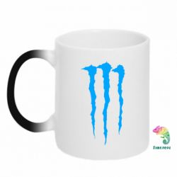 Кружка-хамелеон Monster Energy Stripes 2