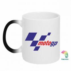 Кружка-хамелеон MOTO GP - FatLine