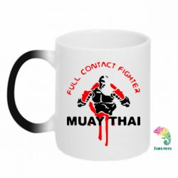 Кружка-хамелеон Muay Thai Full Contact - FatLine