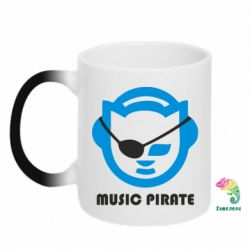 Кружка-хамелеон Music pirate