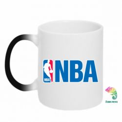 Кружка-хамелеон NBA Logo - FatLine