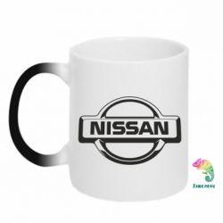 Кружка-хамелеон Nissan Logo - FatLine