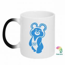 Кружка-хамелеон Олимпийский Мишка - FatLine
