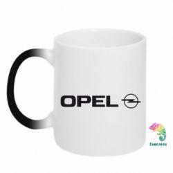 Кружка-хамелеон Opel Logo - FatLine