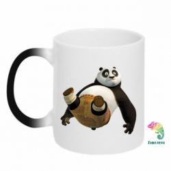 Кружка-хамелеон Падающая Панда - FatLine