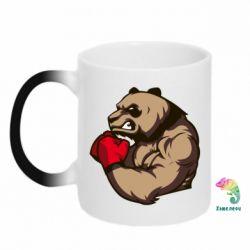 Кружка-хамелеон Panda Boxing - FatLine