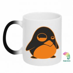 Кружка-хамелеон Penguin - FatLine