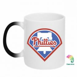 Кружка-хамелеон Philadelphia Phillies - FatLine