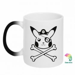 Кружка-хамелеон Pikachu Pirate