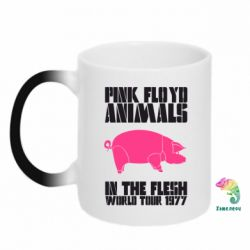 Кружка-хамелеон Pink Floyd Animals - FatLine