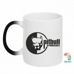 Кружка-хамелеон Питбуль Синдикат - FatLine
