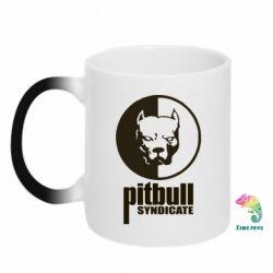 Кружка-хамелеон Pitbull Syndicate - FatLine