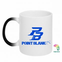 Кружка-хамелеон Point Blank logo - FatLine