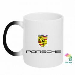 Кружка-хамелеон Porsche - FatLine